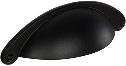 "Knob Deals #1150-2-1/2"" (64mm) Drawer Pull, Black"