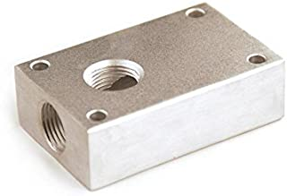 Primefit PCBL38 3/8-Inch Air Push to Connect Outlet Block Provides Air Connections for Compressed Air Piping Systems