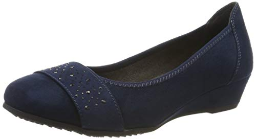 Jana Softline Damen 8-8-22260-23 Pumps, Blau (Navy 805.0), 38 EU