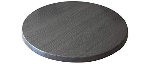"Holland Bar Stool Co. OD36RChar 36"" Diameter Charcoal, Season EnduroTop Indoor/Outdoor Table Top"