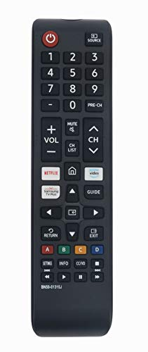 BN59-01315J Replaced Remote fit for Samsung 7 Series TV UN43TU7000 UN43TU7050 UN50TU7000 UN55TU7000 UN58TU7000 UN58TU7050 UN55TU7050 UN50TU7050 UN65TU7000 UN65TU7050 UN70TU7000 UN70TU7050