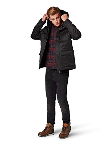 TOM TAILOR denim voor mannen jassen & Jackets New Hooded Field Jacket