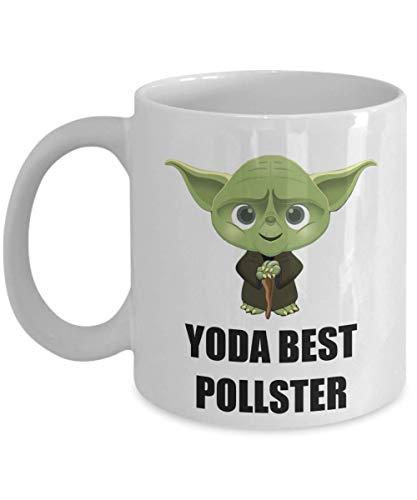 N\A Compleanno Regali per Feste di Natale Presente per Il Personale del sondaggio Dipendente Collaboratore Uomo Donna Amico Star Wars Yoda Migliore Tazza di caffè Divertente Personalizzata