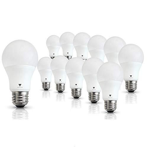 TriGlowT95135-12, A19 LED 60 Watt Equivalent Daylight...