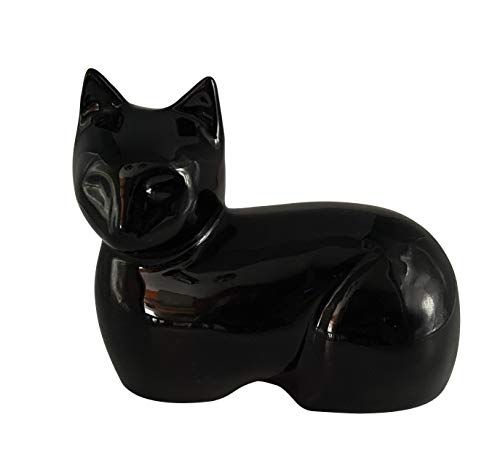 Au Paradis Des Chats Katzen Urne, Denkmal Urne Katze Bella, Tierurne, Gedenkurne Für Haustier, Urne Asche Katze.