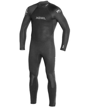 XCEL 7/6mm Hydroflex UltraStretch Men's Full Wetsuit with ThermoBamboo Lining (XL)