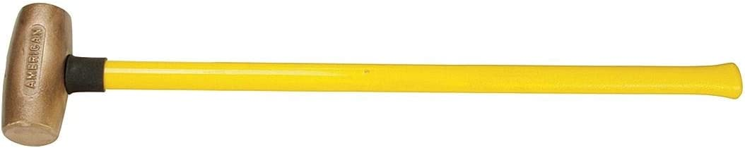 American Hammer Detroit Mall overseas Double Face Sledge 8 lb. 2- Head Weight
