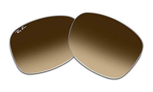 Ray-Ban Original RB2140 50 M Cristal Marrón Gradient Reemplazo Lentes Para Hombres Para Mujeres+GRATIS Gafas Kit Cuidado