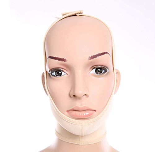 Perfect Face and Neck Lift Perte de Poids Postoperative Elastic Sleeve Jaw Set Face Artefact V Face Facial Face Bundle Double Chin Thin Face S