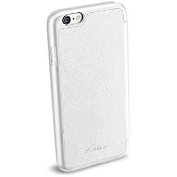 Cellularline Clear Book - iPhone 6S/6 Custodia a libro rigida con