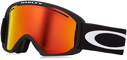 Oakley OO7045-45 O Frame 2.0 XL Matte Black Fire Persimmon