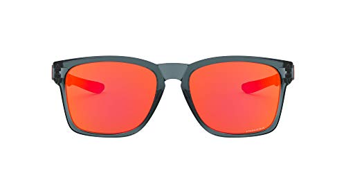 Oakley 0OO9272 Gafas de sol, Crystal Black, 56 para Hombre