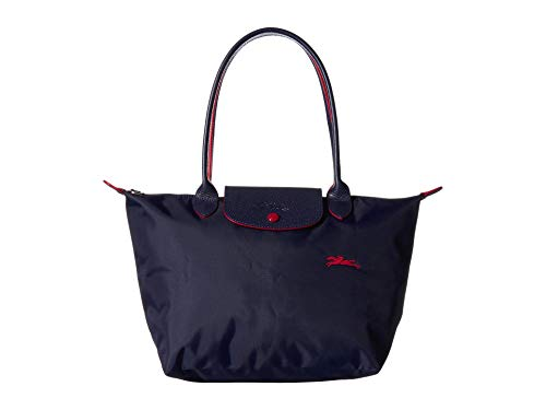 Longchamp Le Pliage Club Shoulder Bag Small Navy One Size