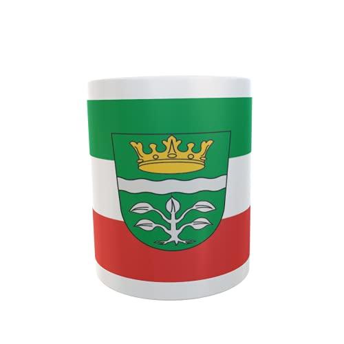 U24 Tasse Kaffeebecher Mug Cup Flagge Landkreis Mayen-Koblenz