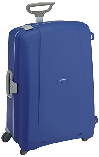 Samsonite Aeris Spinner XL Suitcase Luggage, 81 cm, 118.5 Litre, Blue (Vivid Blue)