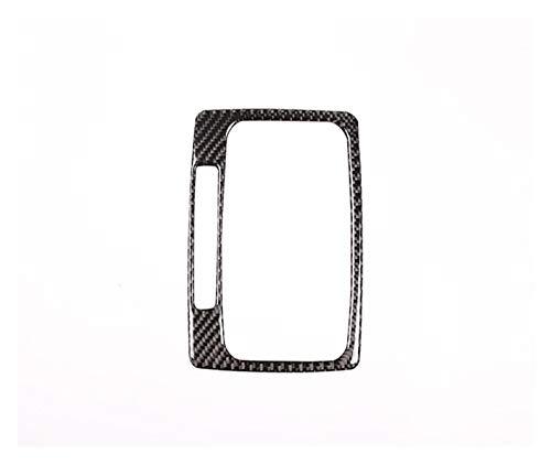 JIS LHD Soft-Carbon-Faser-Auto-Innenraum-Gangschaltung-Panel-Rahmen-Aufkleber gepasst for Mercedes Benz C-Klasse W204 2007-2013 Autozubehör (Color Name : Carbon Fiber)