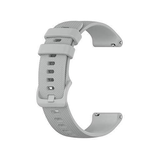 Ixkbiced Bandas de 20 mm para -Garmin Venu Sq Music Vivomove HR Reloj Inteligente Deportivo de Silicona