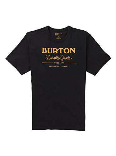 Burton Herren Durable Goods T-Shirt, True Black, L