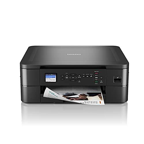 Brother DCPJ1050DW Stampante multifunzione inkjet a colori 3 in 1,Formato A4,Connettività di rete wireless,Stampa fronte-retro automatica,Display LCD da 4,5 cm,Stampa direttamente su carta fotografica