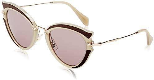 Miu Miu MU05SS Green MU05SS Cats Eyes Sunglasses Lens Category 2 Size 52mm product image