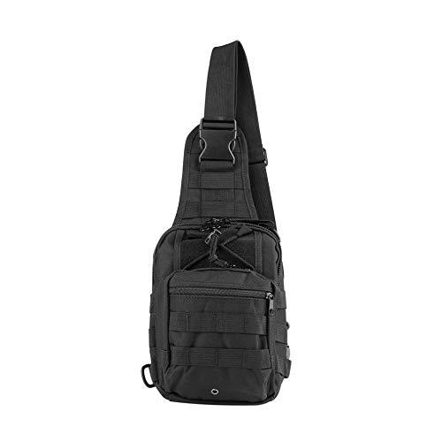 Negro táctico Profesional Mochila Escalada Bolsas de hombro al aire libre morral militar mochilas bolsa para el deporte que acampa yendo de Viajes