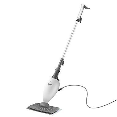LIGHT 'N' EASY Steam Mop for Floor Cleaning S3101 Floor Steamer for Hardwood and Tile,Steamer Mop for Tile, Grout, Laminate, Hardwood, Carpet, Professional Mop Steamer Cleaner