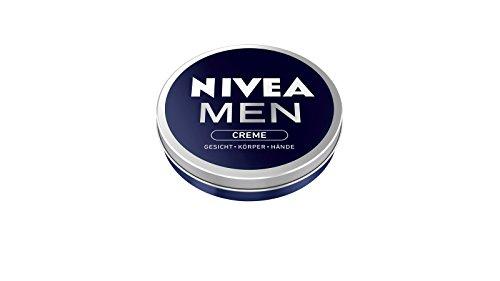 Nivea Men Creme im 5er Pack (5 x 30 ml), Hautcreme für Gesicht, Körper & Hände, pflegende Feuchtigkeitscreme mit frisch-maskulinem Duft