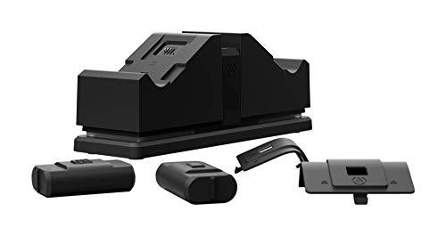 PowerA - Estación de Carga Doble para Xbox, Negra (Xbox Series X)