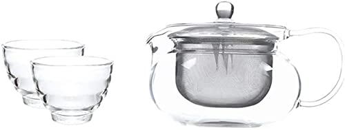 Juego de Tetera Juego de Tetera, hervidor frío, Taza de té, Creativo, Taza, Temperatura Constante, no Contiene sustancias nocivas como Plomo y es químicamente Estable