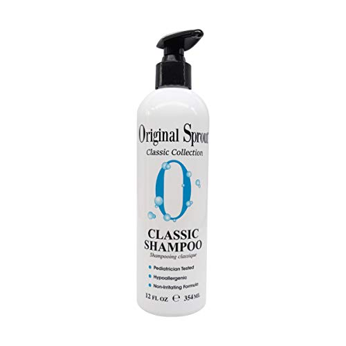 Original Sprout Natural Shampoo. Organic Sulfate Free Shampoo for All Natural Hair Care. 12 ounce (Packaging May Vary)