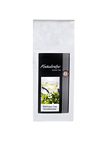 Wellness-Tee Streßblocker®, mit Johanniskraut, Lemongras uvm, 75g im Aromabeutel