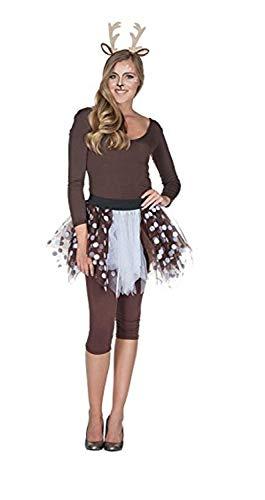 Rubie's 13260-STD Petticoat Rehkitz Größe: Standard/STD, Braun