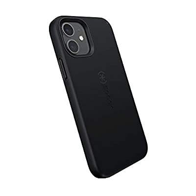 Speck Products CandyShell Pro iPhone 12, iPhone 12 Pro Case Black/Black (137600-1050)