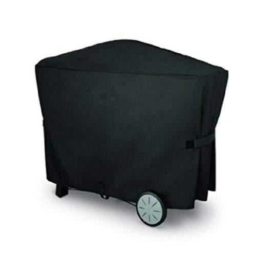 Gxiang Fundas para Barbacoas Negro Parrilla Impermeable Cubierta Al Aire Libre Jardín Cubiertas De Barbacoa UV Bloque Polvo A Prueba De Polvo Espesor Oxford Tela Muebles Horno Protector
