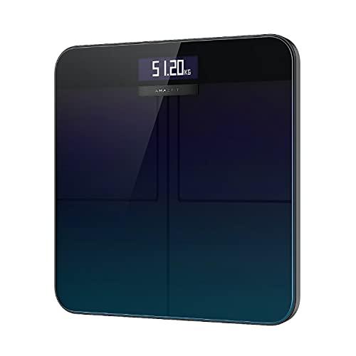 Amazfit 体重計 体脂肪計 体組成計 内臓脂肪 スマホ連動 高精度 bluetooth Wi-Fi対応 ヘルスメーター 16種類の健康指標 BMI 筋肉量 充実機能