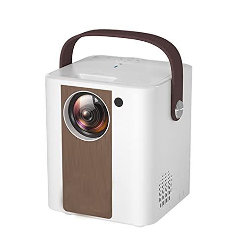 KIUY Proiettore Portatile, videoproiettore Full HD 1080p, proiettore Home Movie, Compatibile con Smartphone e Laptop Giochi, Molto Adatto per l'home Theater