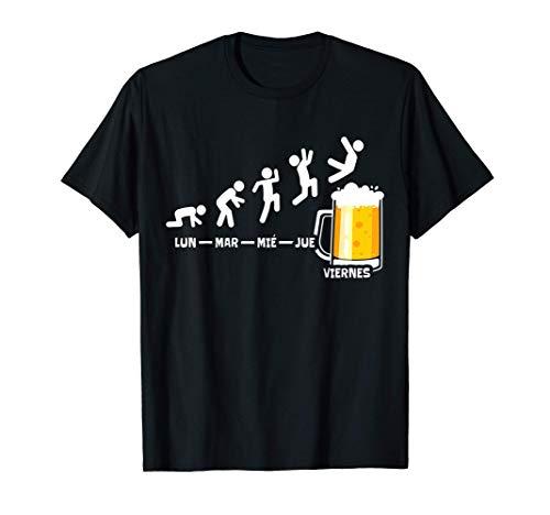 Cerveza Semana Viernes Fin De Semana Regalo De Cerveza Camiseta