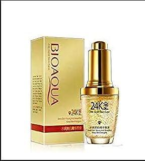 Bioaqua Whiten Moisturizing Day Face Cream with 24K Gold Essence Serum For Women