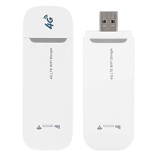 Router Inalámbrico, Módem USB 3G / 4G con Adaptador WiFi LTE para Teléfono, Tableta, Computadora Portátil