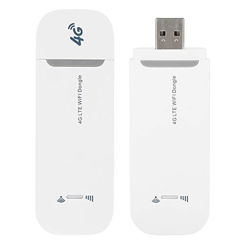 Módem LTE 4G WiFi, Mini Módem USB 4G para Internet inalámbrico, Enrutador WiFi LTE inalámbrico para tabletas, computadoras portátiles, computadoras de Escritorio y Varios Tipos de Dispositivos WI-FI