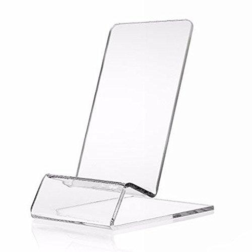 Outstanding Soporte de Pantalla de plástico Transparente Soporte de Soporte de teléfono móvil para iPhone 6 / iPhone 7 / Xiaomi MI 6 / Moto Z/Z Reproducir / Z2 Reproducir