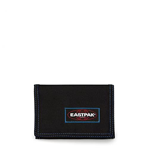 Eastpak Crew Single Portafoglio, 9.5 cm, Nero (Kontrast Mysty)