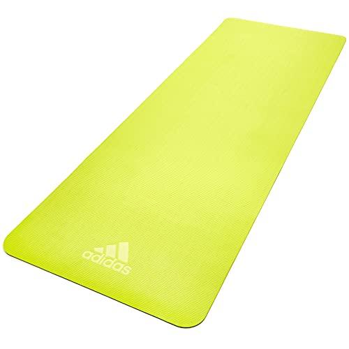 adidas Estera de yoga de doble cara - 6mm - Azul / Amarillo