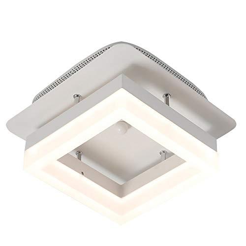 Led-plafondlamp op zonne-energie, voor hal, vierkant, plafondverlichting, café, kantoor, restaurant, slaapkamer, woonkamer, plafond, beschermt de ogen