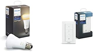 Philips Hue (ヒュー) ホワイトグラデーション シングルランプ スマート LEDライト + Philips Hue(ヒュー)Dimmerスイッチ