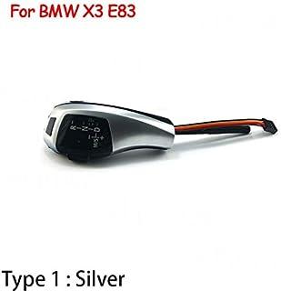 مقبض ناقل سرعة 4Speed-Gear Shift Knob - رأس ناقل حركة للسيارة لسيارات BMW 1 3 5 6 سلسلة E90 E60 E46 E39 E53 E92 E81 E82 E8...
