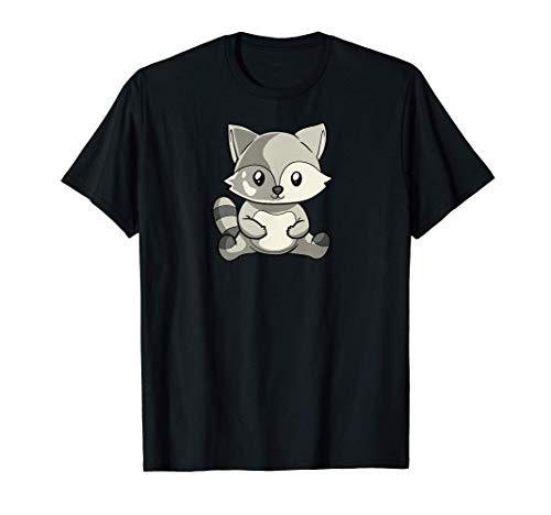 Kawaii Racoon Anime Forrester Disfraz Camiseta