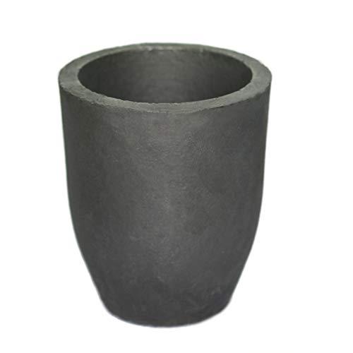 LLF Lehm Graphittiegel Gießereibecher Ofenbrenner Schmelzen Gießen Raffinieren Gold Silber Kupfer Messing Aluminium Blei Zink und Legierungen (# 10 (Kapazität 1100ML))