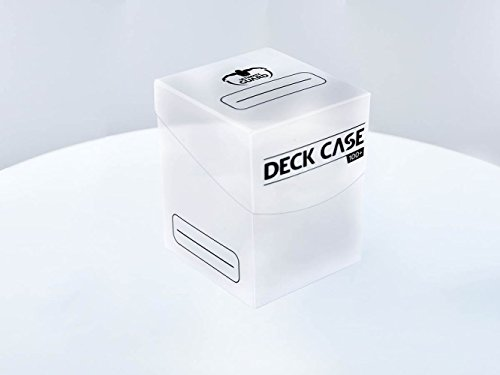 Ultimate Guard Deck Case 100+ Caja de Cartas Tamaño Estándar Transparente