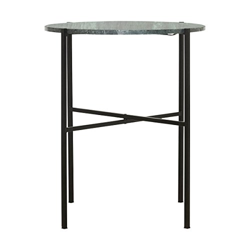 House Doctor - Tisch/Beistelltisch - The Green - Marmor - ø: 45 cm - Höhe: 55 cm